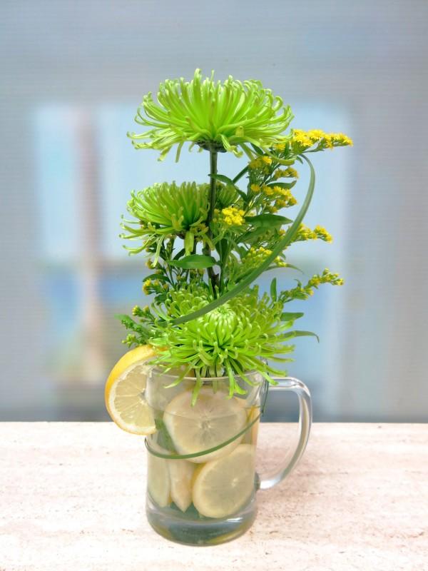 Flores que refrescan