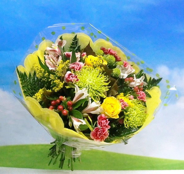 Ramo de flor variada 'Anastasia'