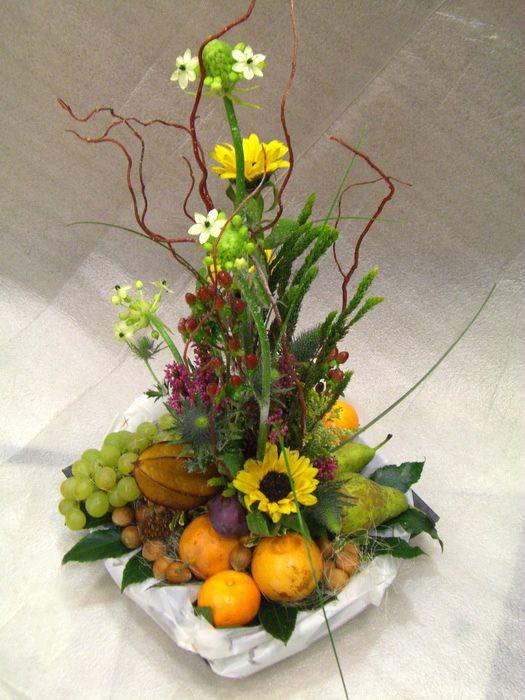 Flores y Fruta. Rico rico