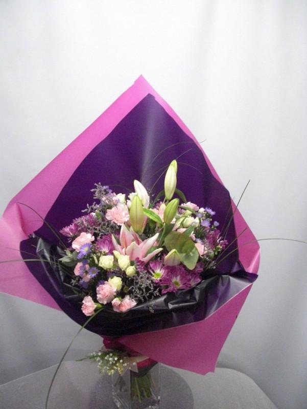 Flor Variada. Caramelo de Fresa