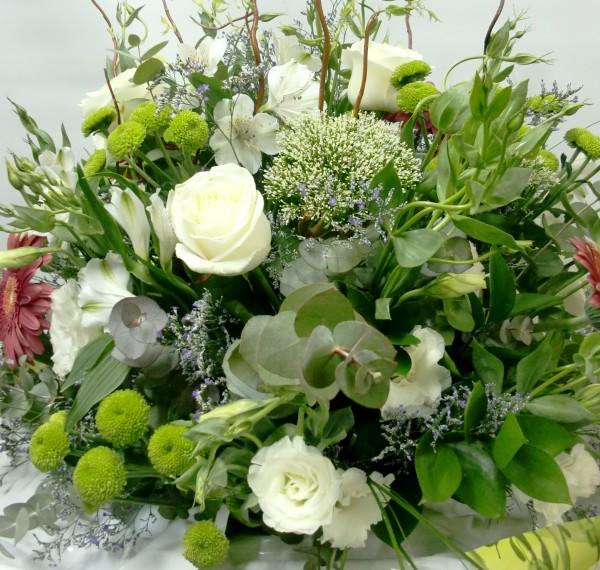 Jarrón de Rosas y Flor variada - Foto 2