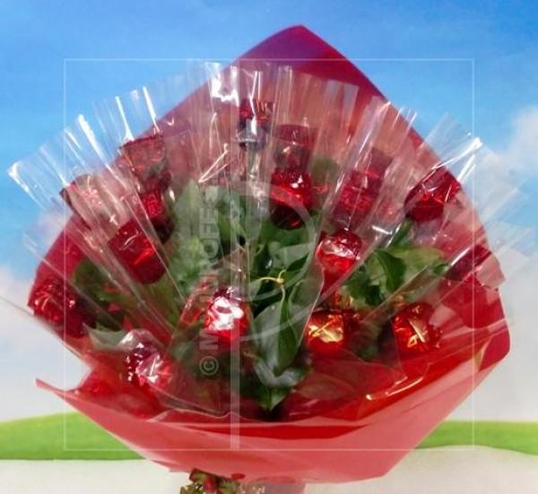 Ramo de 20 Rosas de chocolate - Foto principal