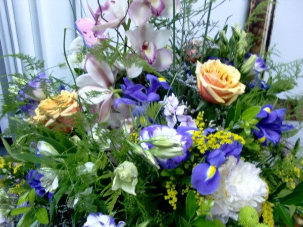 Jarrón de Flor variada ¡Espectacular! - Foto 4
