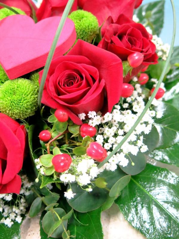 Corazón de 8 Rosas - Foto 3