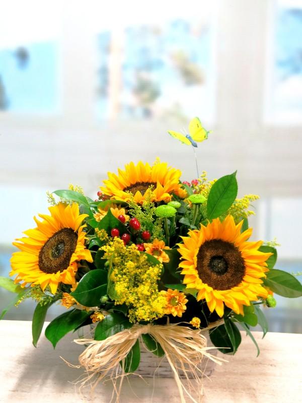 La cesta de Flores de mi verano - Foto 3