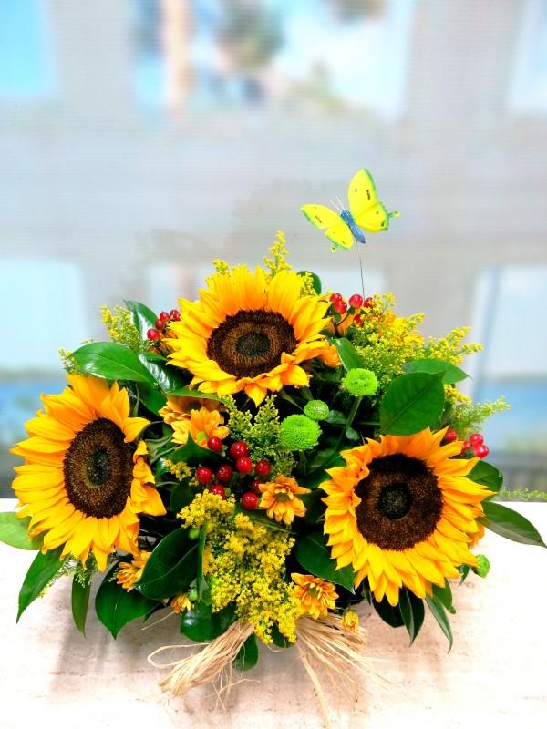 La cesta de Flores de mi verano