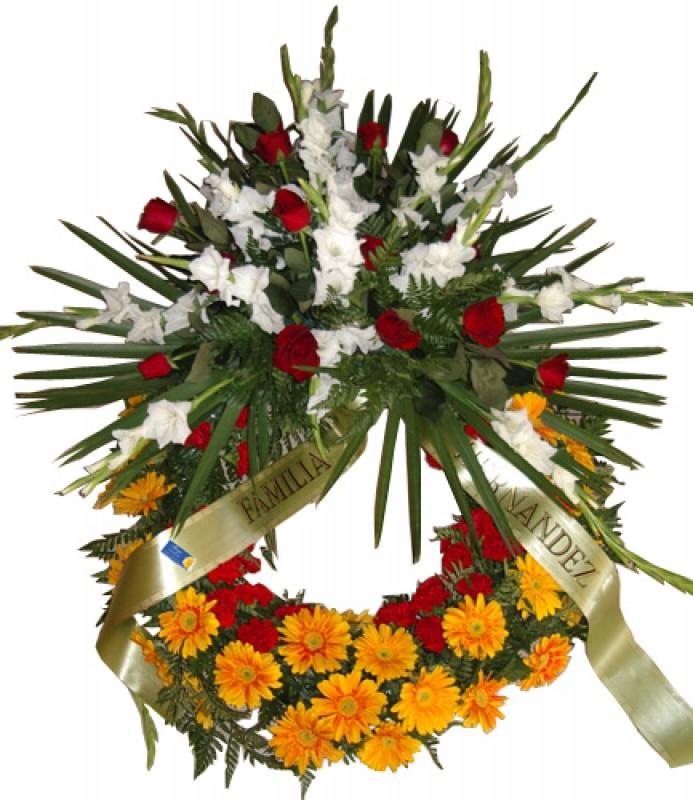 Corona de flores para difuntos - Foto principal