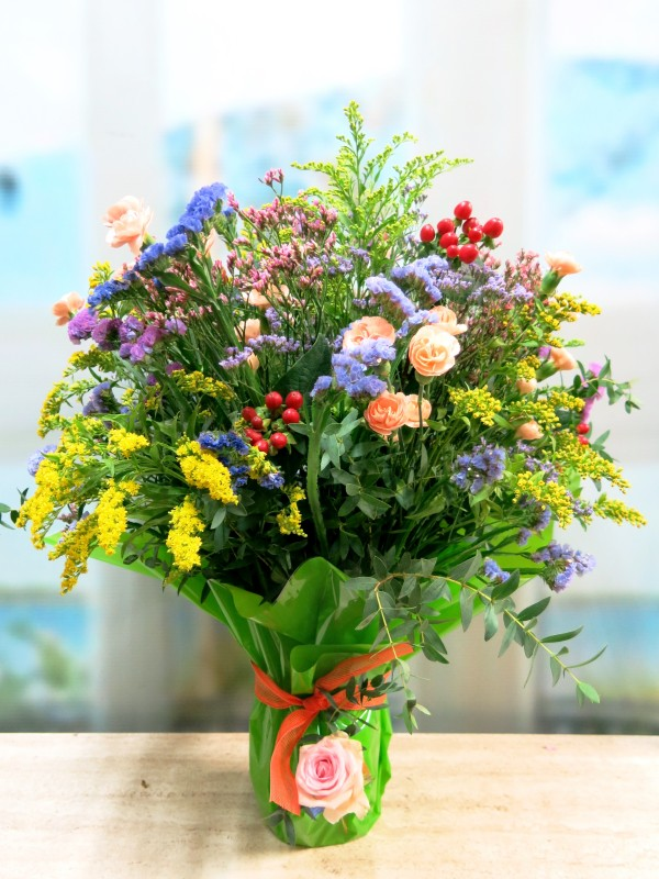 El Jarrón de Flor Variada para Ella - Foto principal
