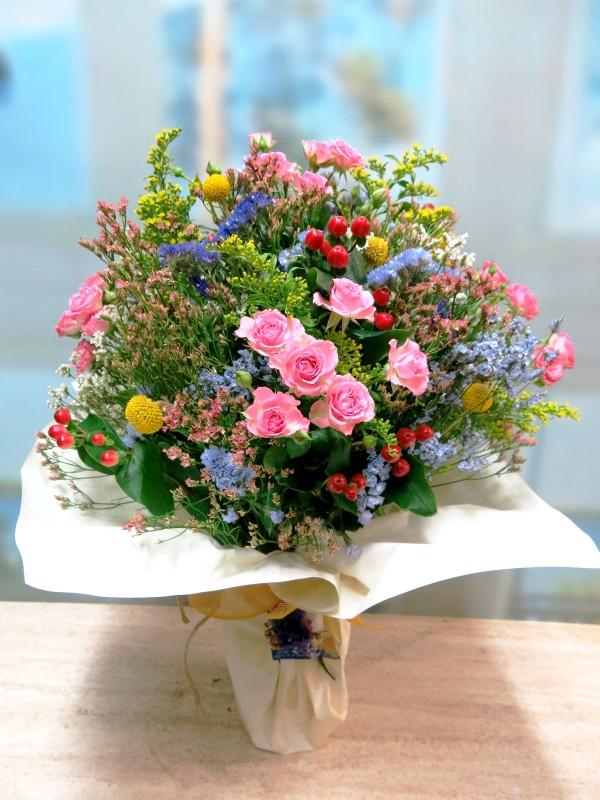 Ramo de flores en jarrón Santander a domicilio - Foto principal
