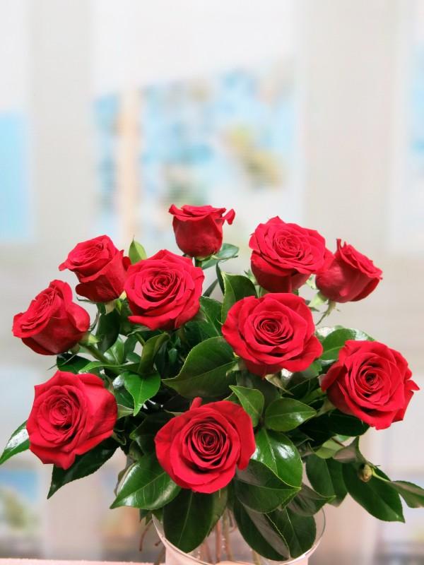 Ramo de 10 Rosas - Foto 2