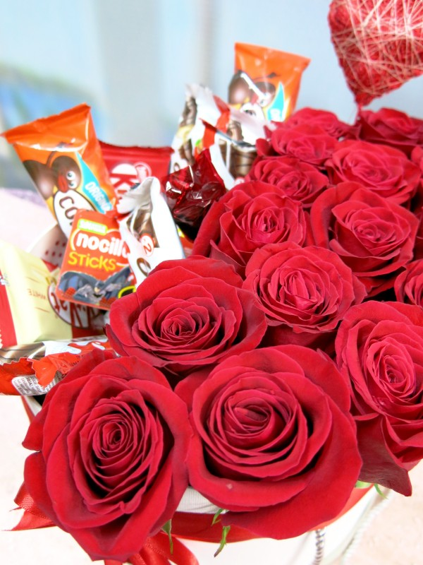 Roses and Chocolates in a box - Foto 4