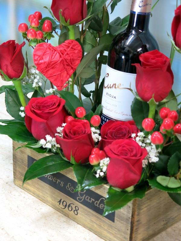 Rosas y Vino para celebrar San Valentín - Foto 2