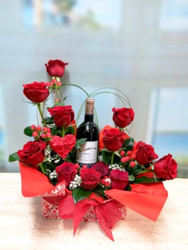 Rosas y Vino para celebrar San Valentín - Foto 4