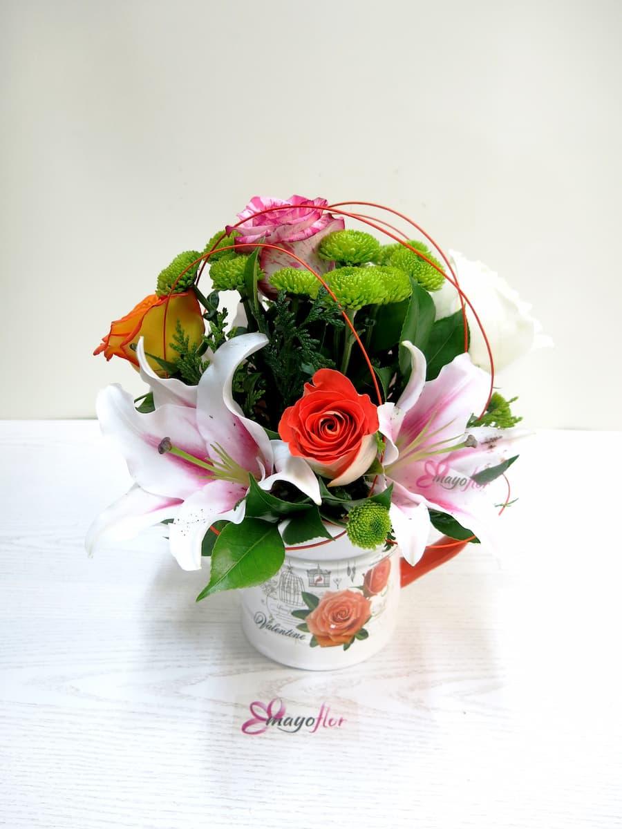 Flores variadas y Rosas en Regadera - Foto 4