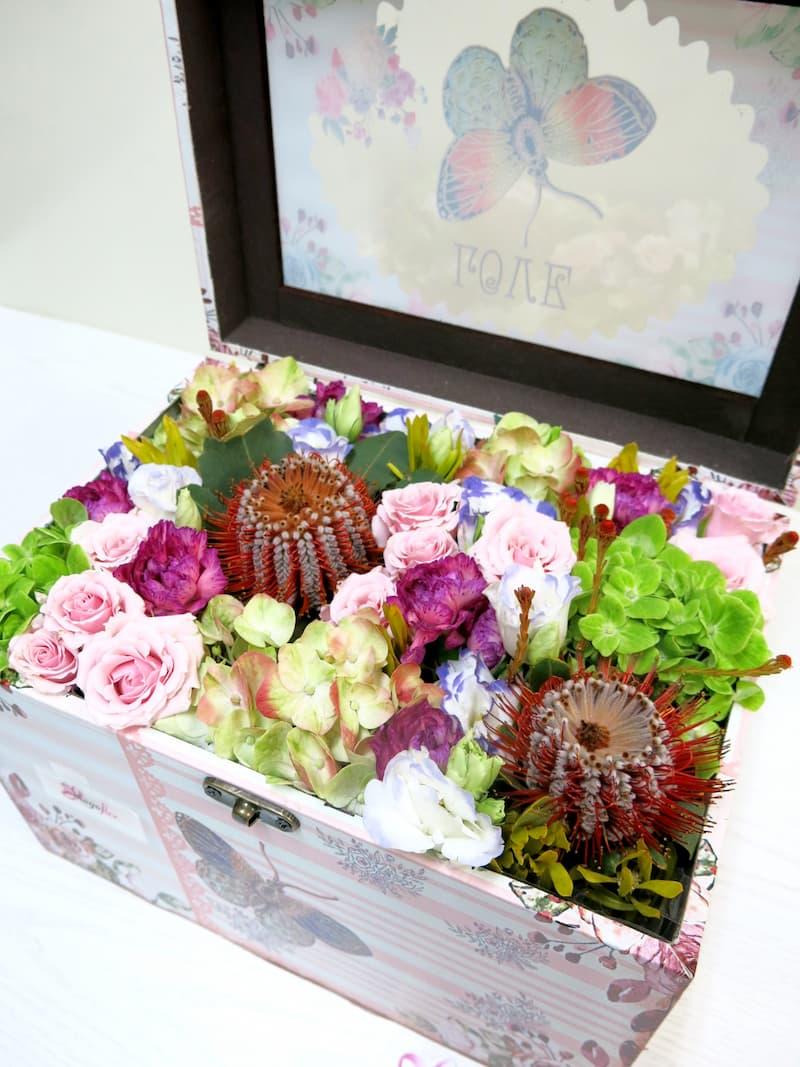Sorpresa de Flores en el baúl - Foto 5