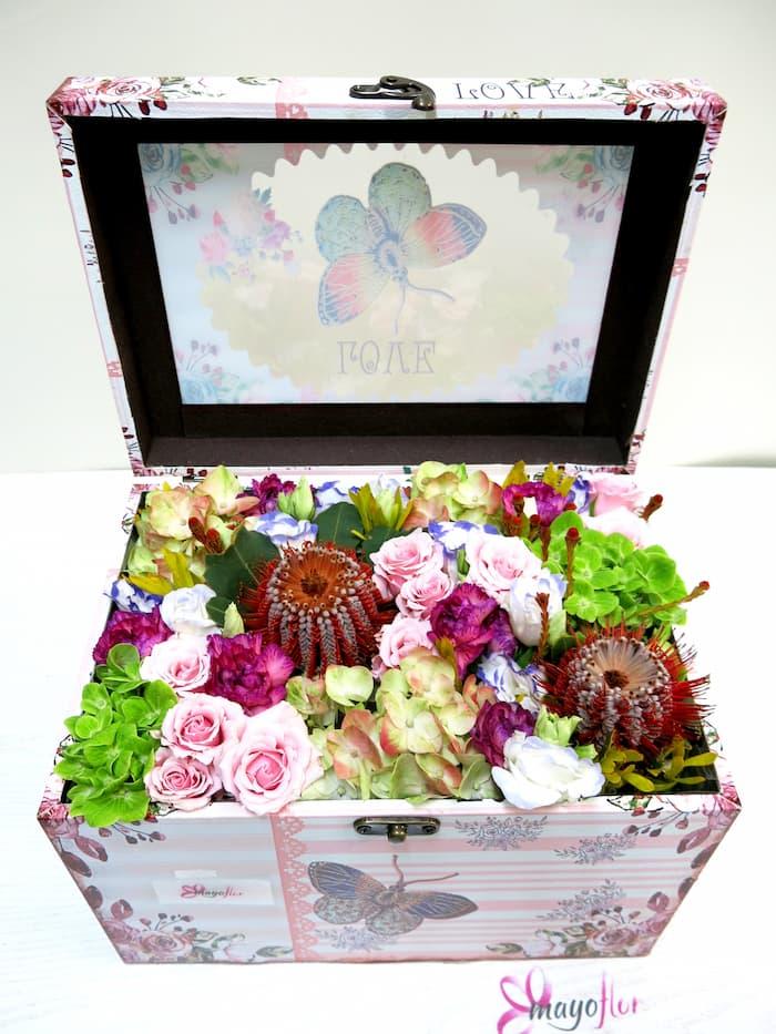 Sorpresa de Flores en el baúl - Foto principal