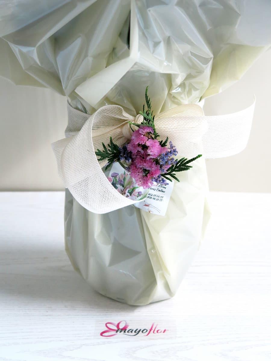 Espectacular jarrón de 24 Rosas blancas o del color que tu quieras - Foto 2