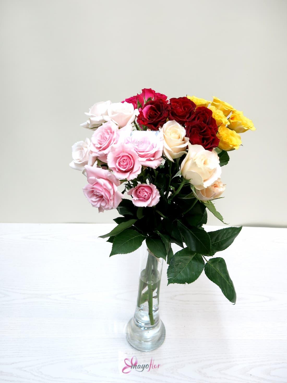 Rosas ramificadas variadas - Foto 3