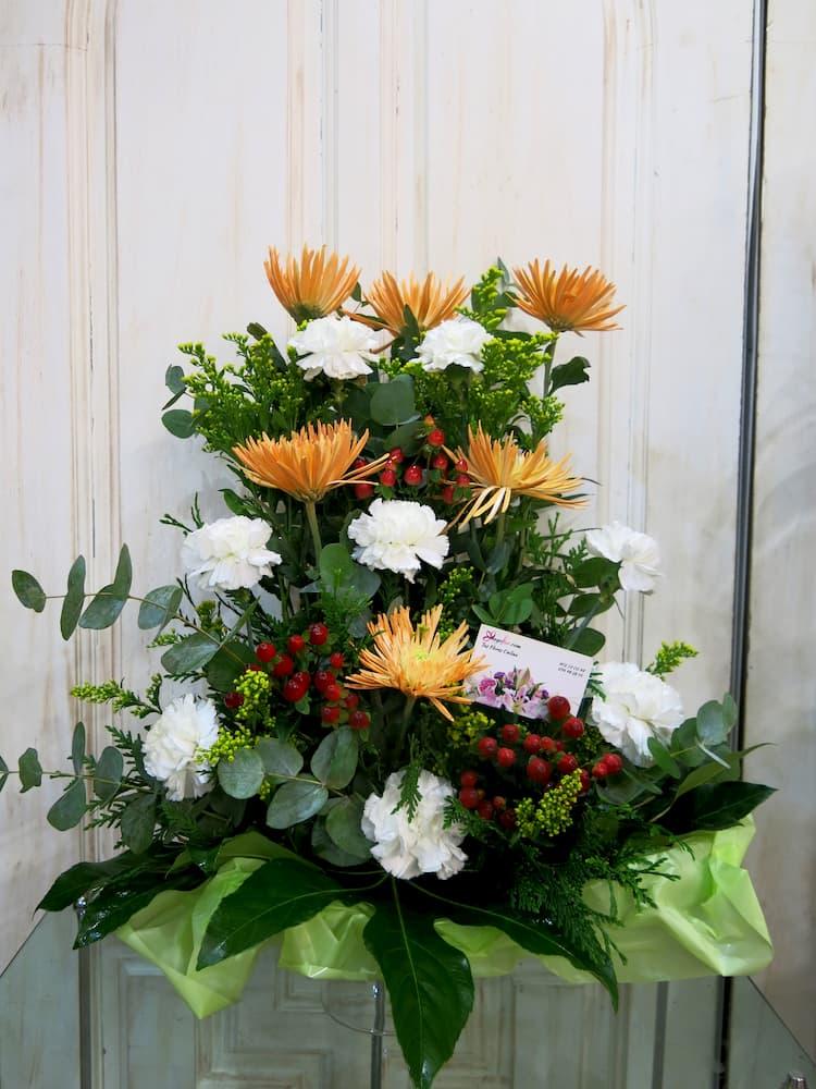 Centro de flores de  Anastasias y Claveles - Foto principal
