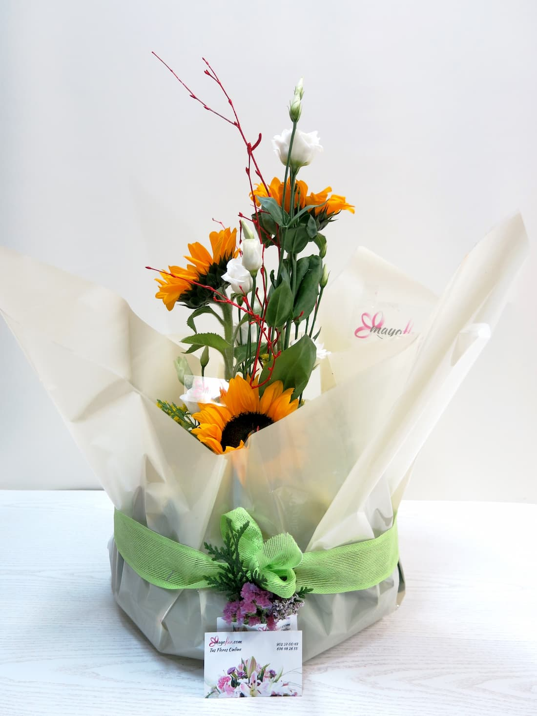 Centro de frutas y flores - Foto 2
