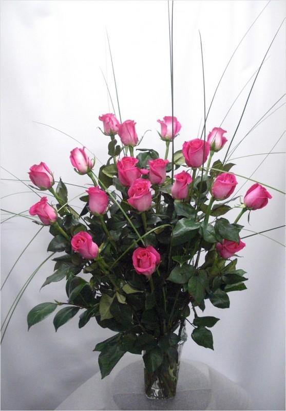 24 Rosas Rosas de color amarillas