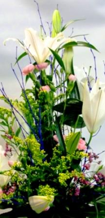 Centro de flores vanguardista - Foto 3