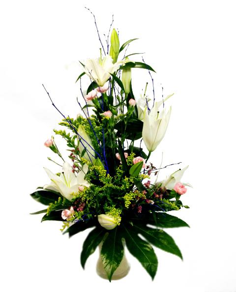 Centro de flores vanguardista - Foto principal