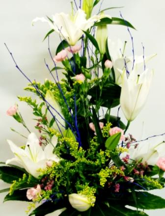 Centro de flores vanguardista - Foto 2