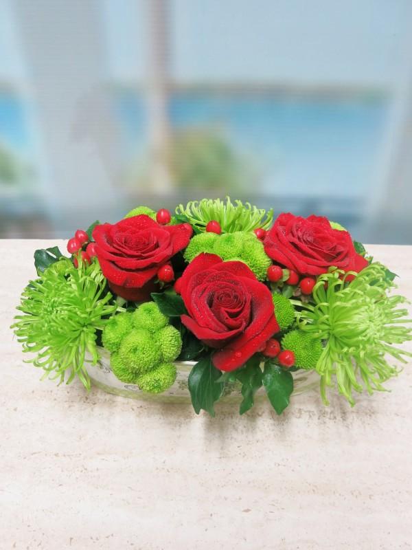 Jardinera con flores - Foto 3