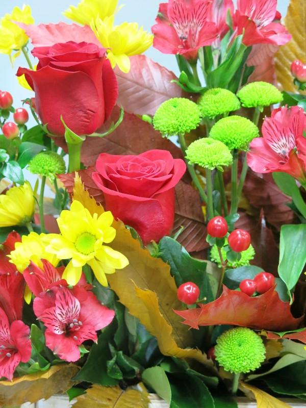 Centro de Flores en caja - Foto 3