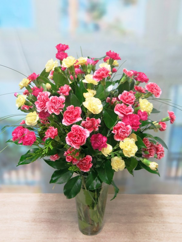 Bouquet of mini carnation flowers - Foto 2