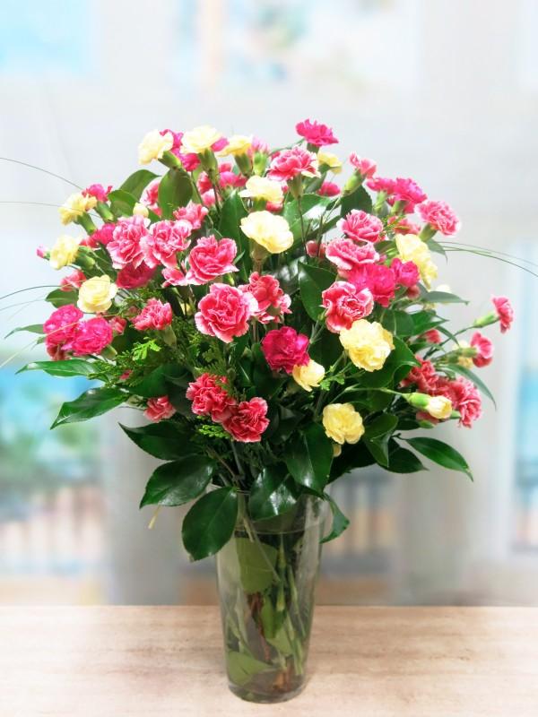 Bouquet of mini carnation flowers - Foto principal