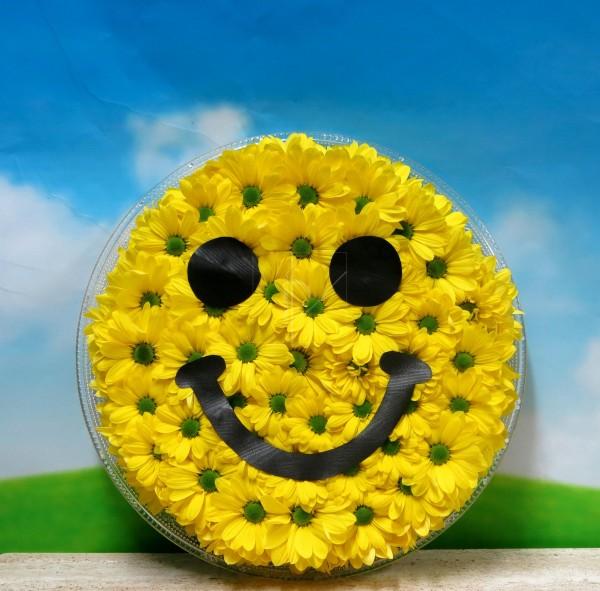 Emoticono Sonrisa de margaritas - Foto principal
