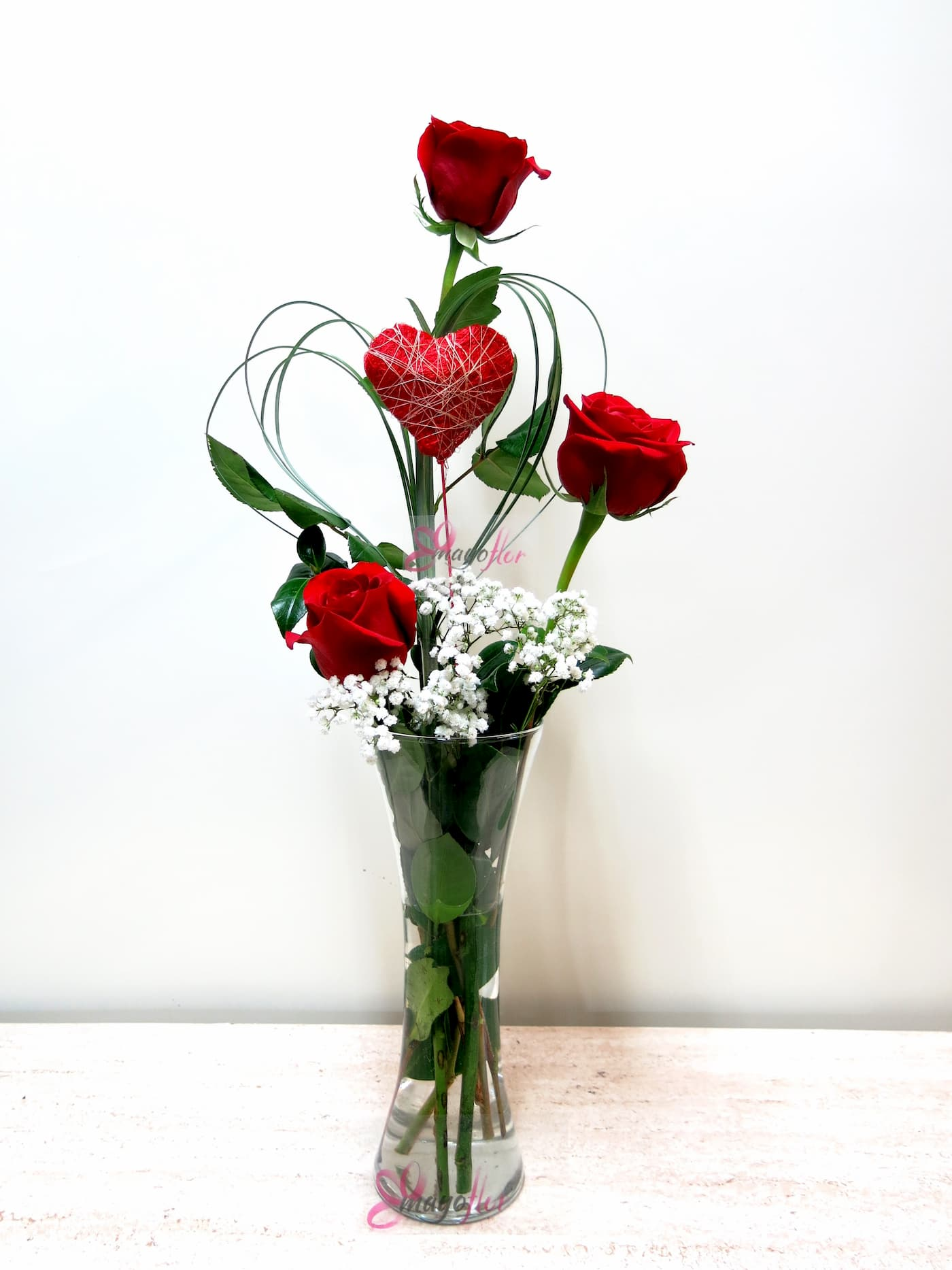 Tres Rosas y tu Corazón - Foto 3