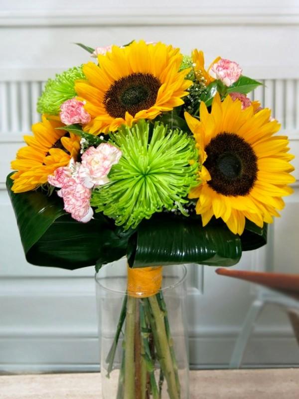 Bouquet de Girasoles y Anastasia - Foto principal