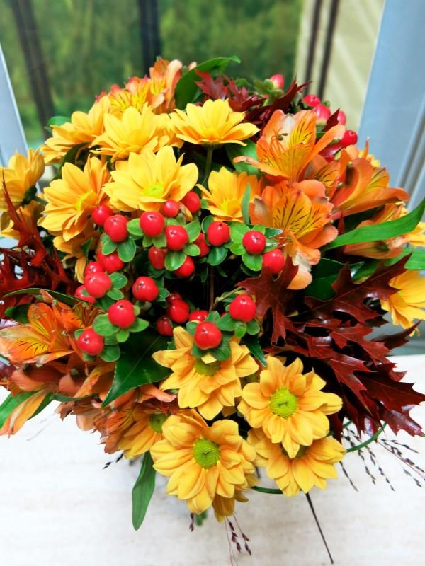 Autumnal bouquet Madrid - Foto 2