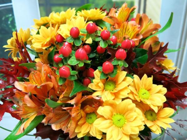 Autumnal bouquet Madrid - Foto 3