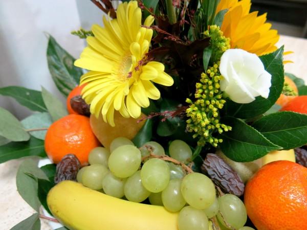 Centro de frutas y flores - Foto 4