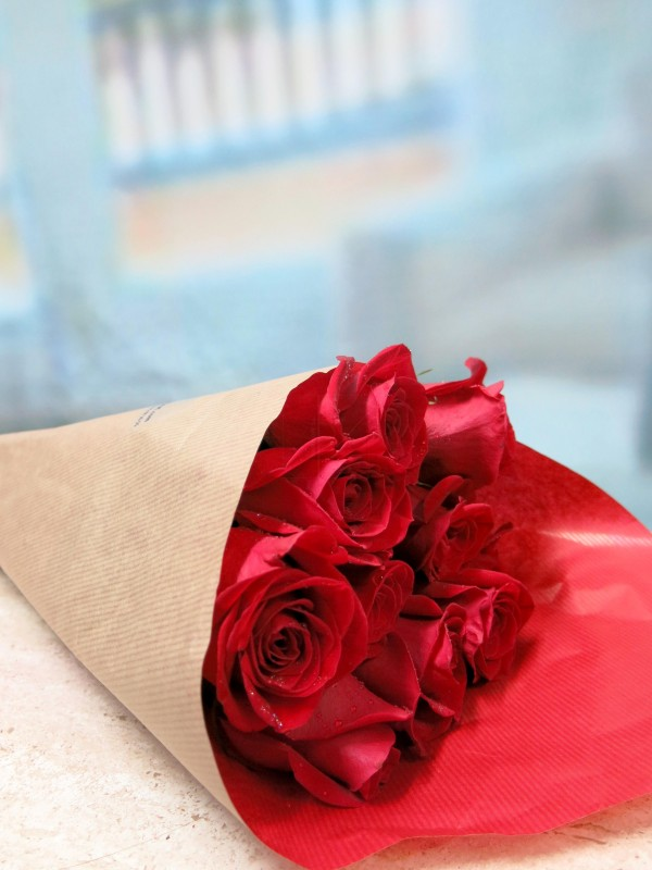 Red roses for 10, 20 or 30 stems - Foto principal