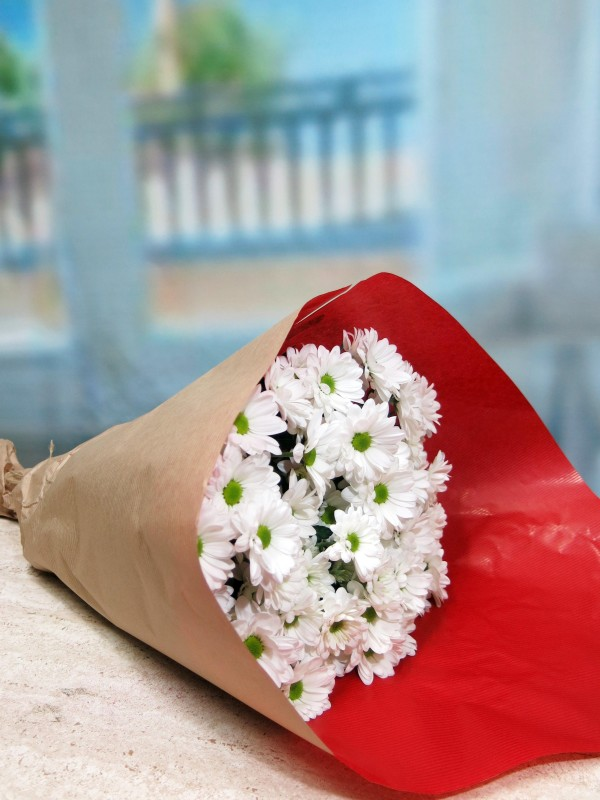 GIFTS White daisies 10 stems - Foto principal
