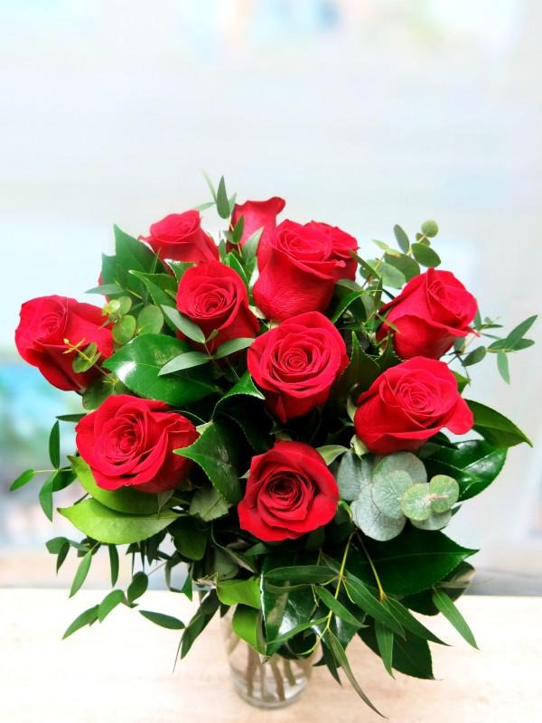 Blouquet de 12 Rosas (tallo de 50-60 cm.) - Foto 2