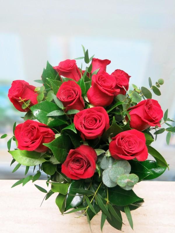 Blouquet de 12 Rosas (tallo de 50-60 cm.) - Foto 3