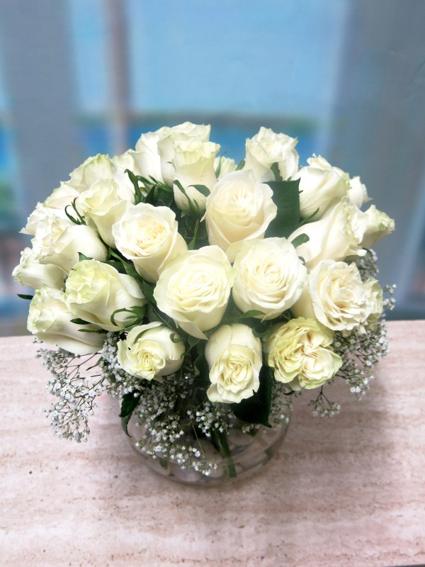 Centro de 30 Rosas en cristal - Foto 2