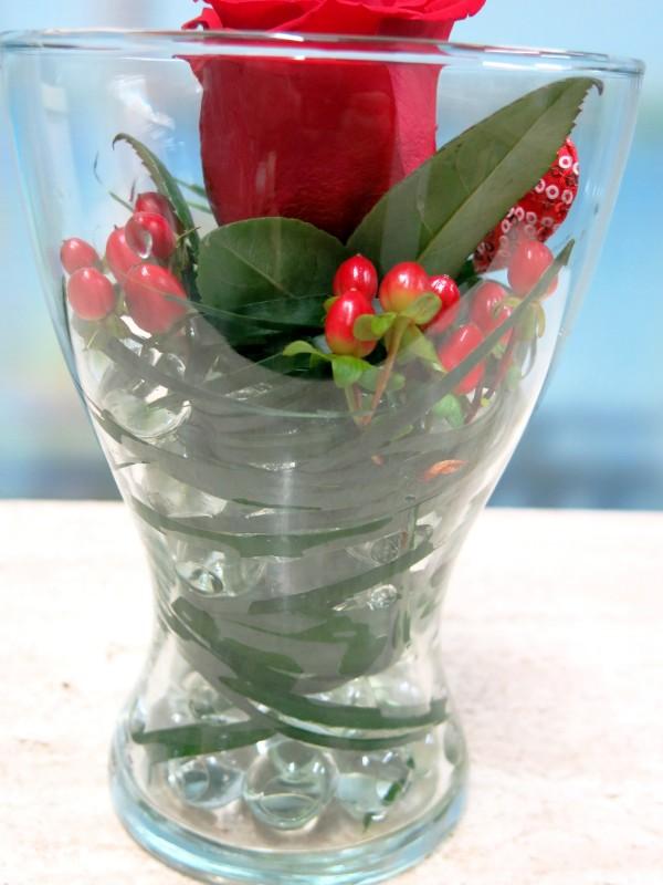 Rose in a Vase - Foto 3