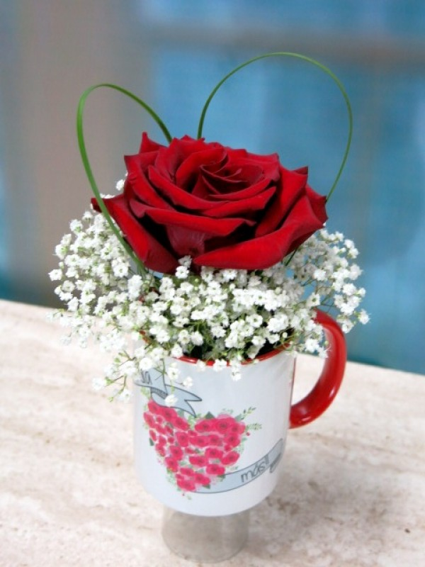 Mayoflor cup with Rosa - Foto 2