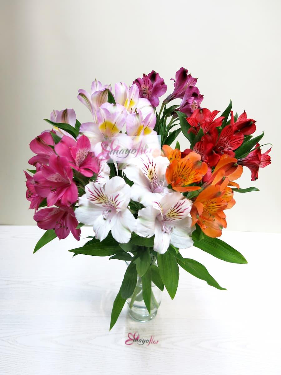 Alstroemerias variada 6 tallos Oferta especial de flores - Foto 3