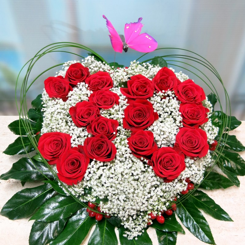 Heart with your birthday, anniversary ... - Foto principal