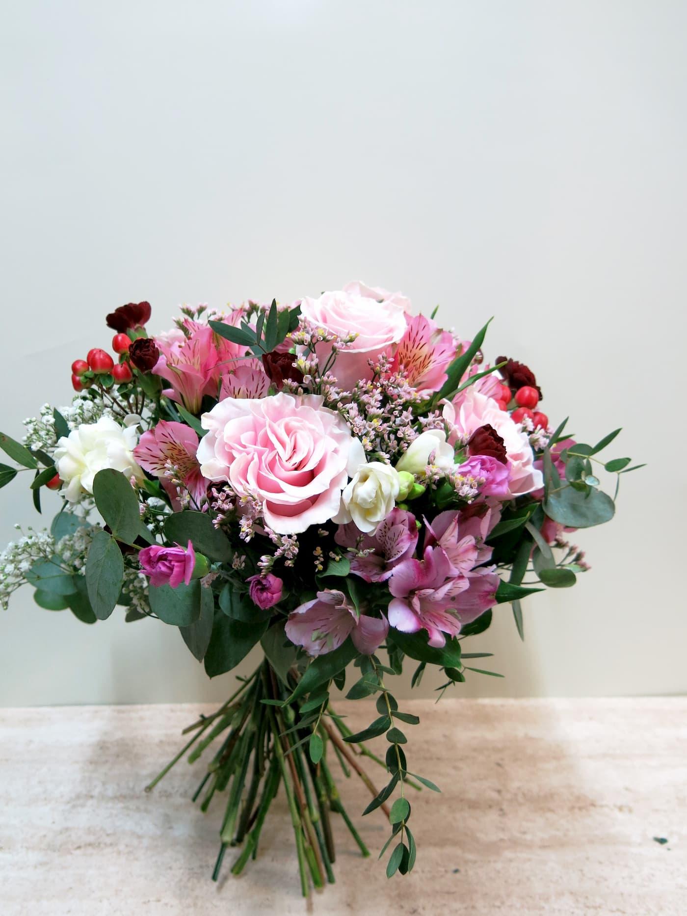 Mixed flower in pink tones - Foto 5