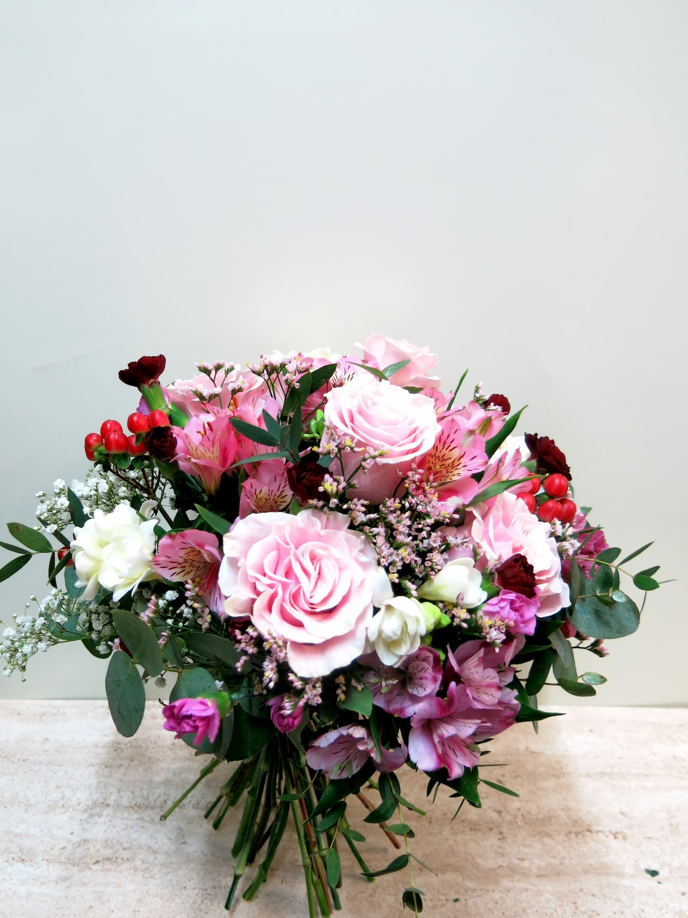 Mixed flower in pink tones - Foto 2