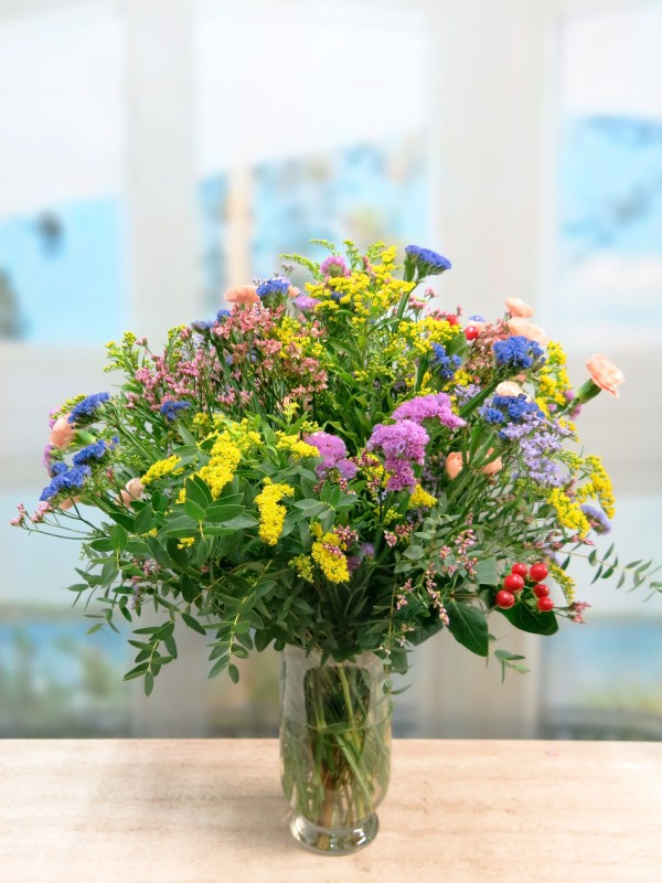 Vase with Varied Flower for Her - Foto 4